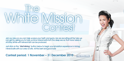 Darlie 'White Mission' Contest