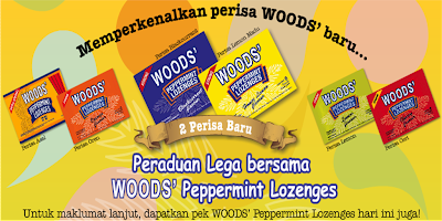 Woods 'Lega Bersama Woods Peppermint Lozenges' Contest