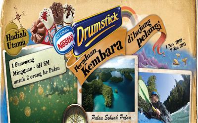 Nestle Drumstick 'Kembara Di Hujung Pelangi' Contest