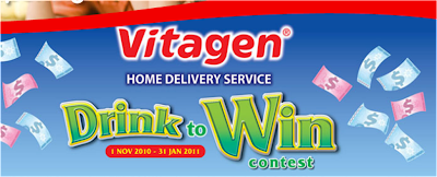 Vitagen 'Drink to Win' Contest
