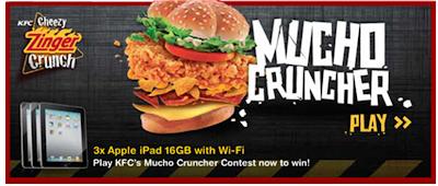 KFC Snax 'Mucho Cruncher' Contest