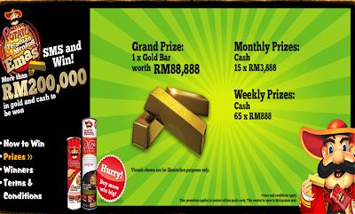 Mister Potato 'Peraduan Menang Emas' Contest