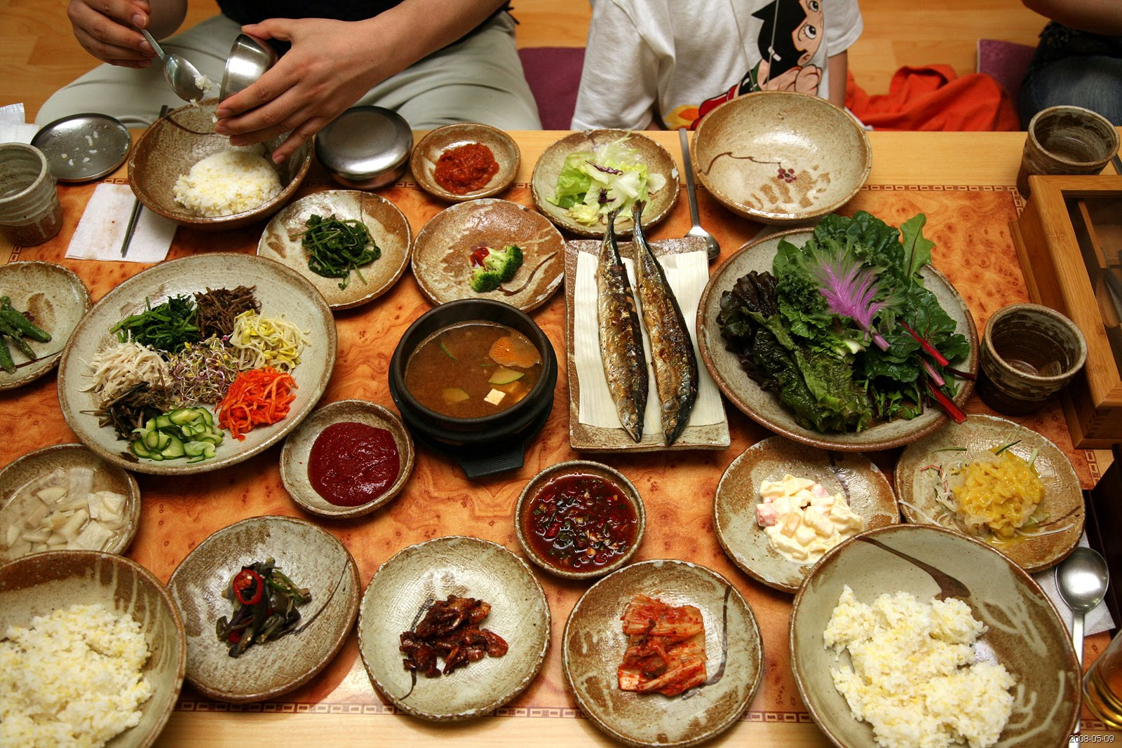 Image result for banchan dishes