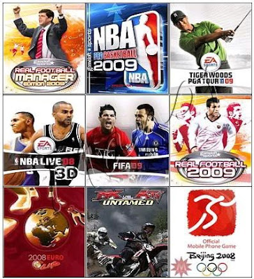Java Sports Game Collection 2009