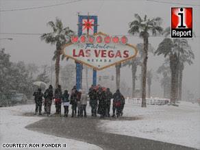 Las Vegas Meets Snow