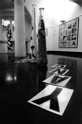 Installazione Ying e Yang, Museo Flavio Roma, Genova, 2007