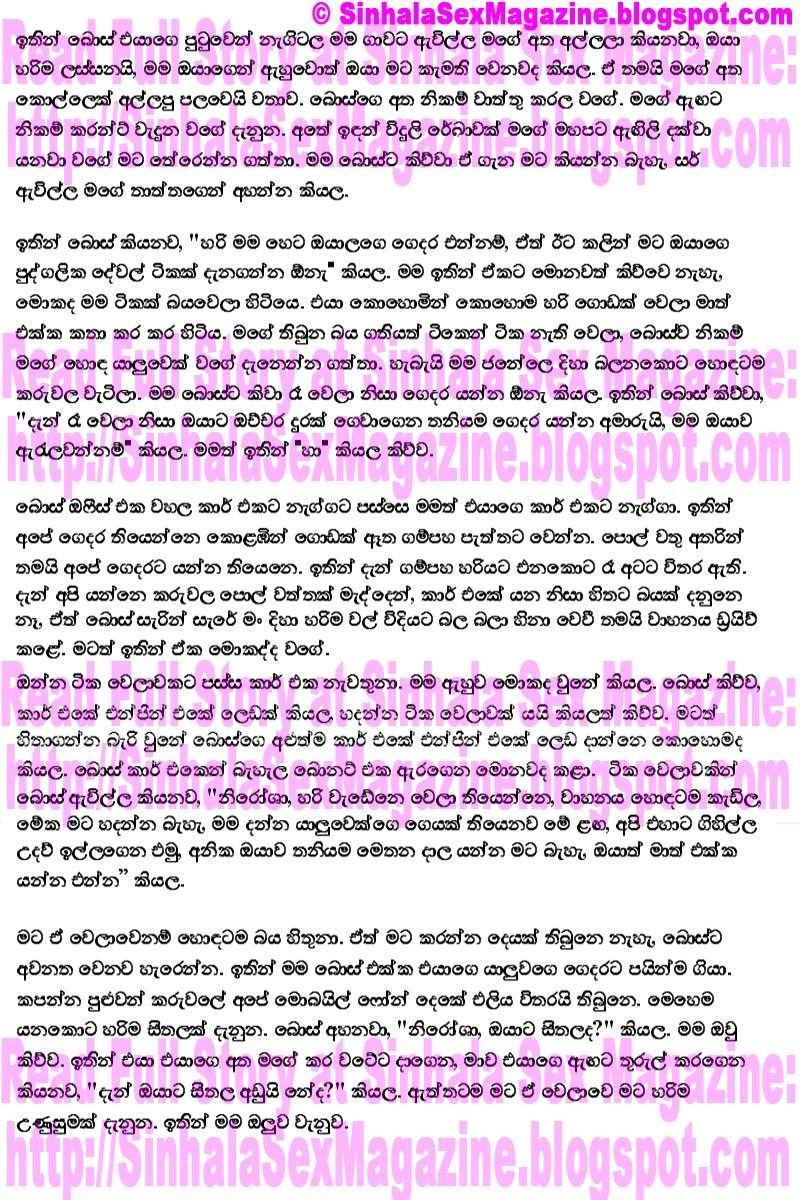 Free Read Sinhala Sex Story 22