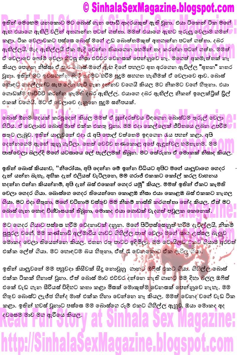 Free Read Sinhala Sex Story 86