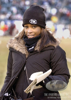 Pam Oliver made it out the first round on The Big Picture's