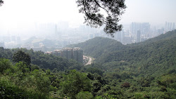 View from Kowloon Hills