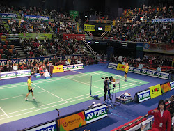 Men's badminton