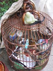 Buddha Bird cage