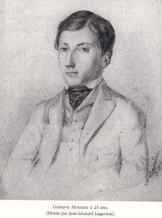 Gustave Moynier à 25 ans