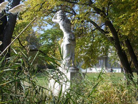 Le jardin de la villa Moynier 2007