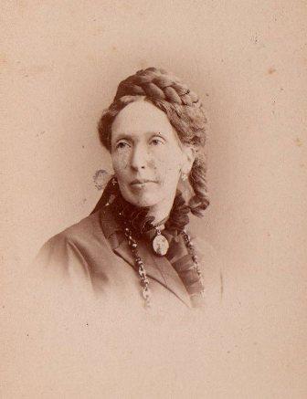 L'épouse de Gustave Moynier, Fanny Paccard