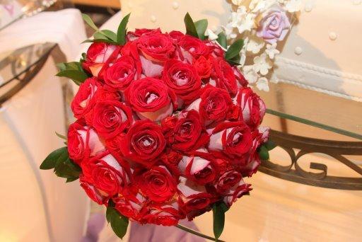 Bouquet de noiva tradiconal de rosas brasilian lady.