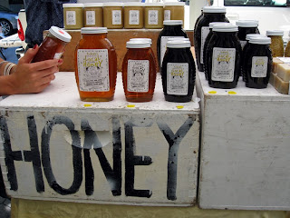 Andrew's Honey stall