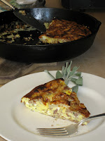 Italian sausage and fennel frittata