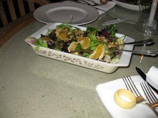 Temple orange & walnut salad