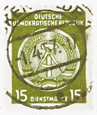 German post mark