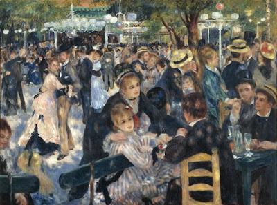"""""""Le Moulin de la Galette"""" - Pierre-Auguste Renoir, Musée d'Orsay"""