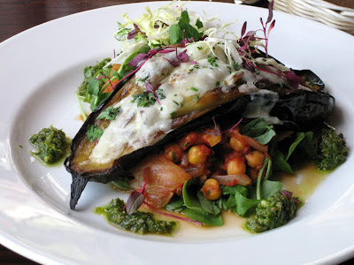 Confit of aubergine - The Dukes Head