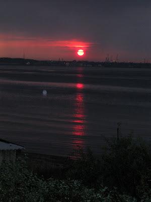 Summer house sunset - Strib, Danmark