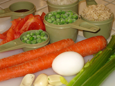 Albondigas soup ingredients