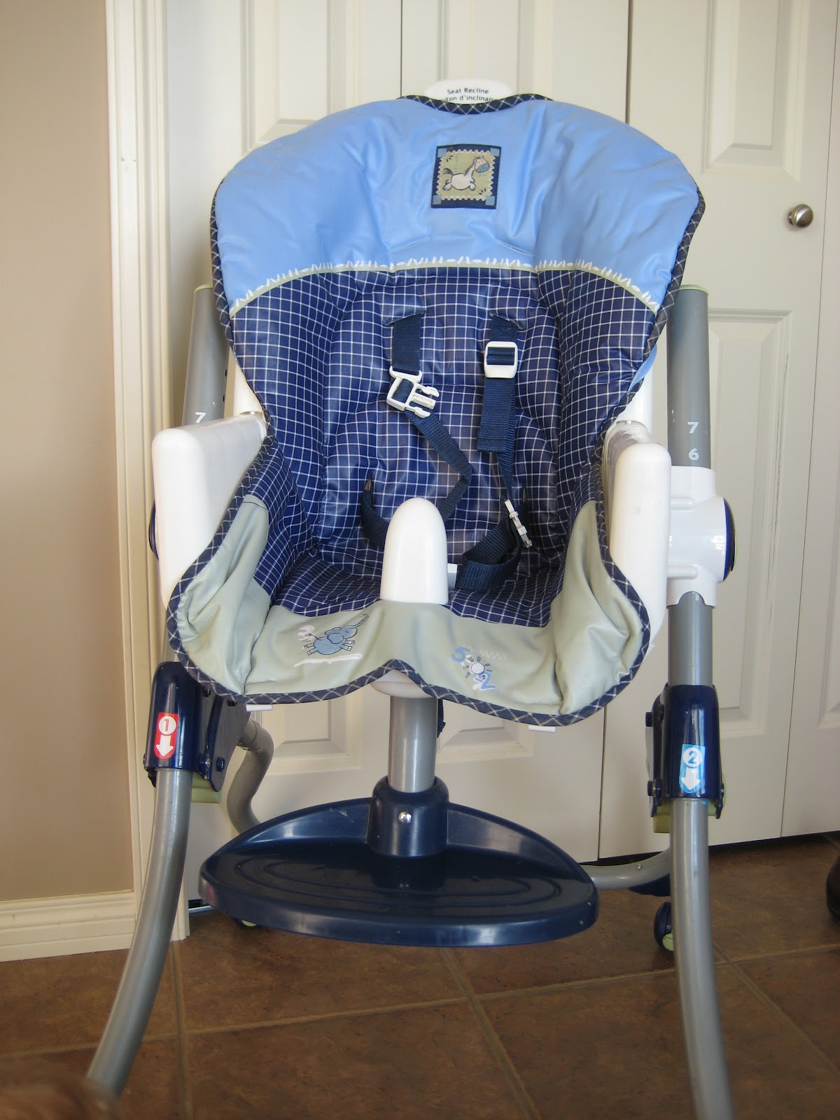 Laura Thoughts High Chair Re Cover