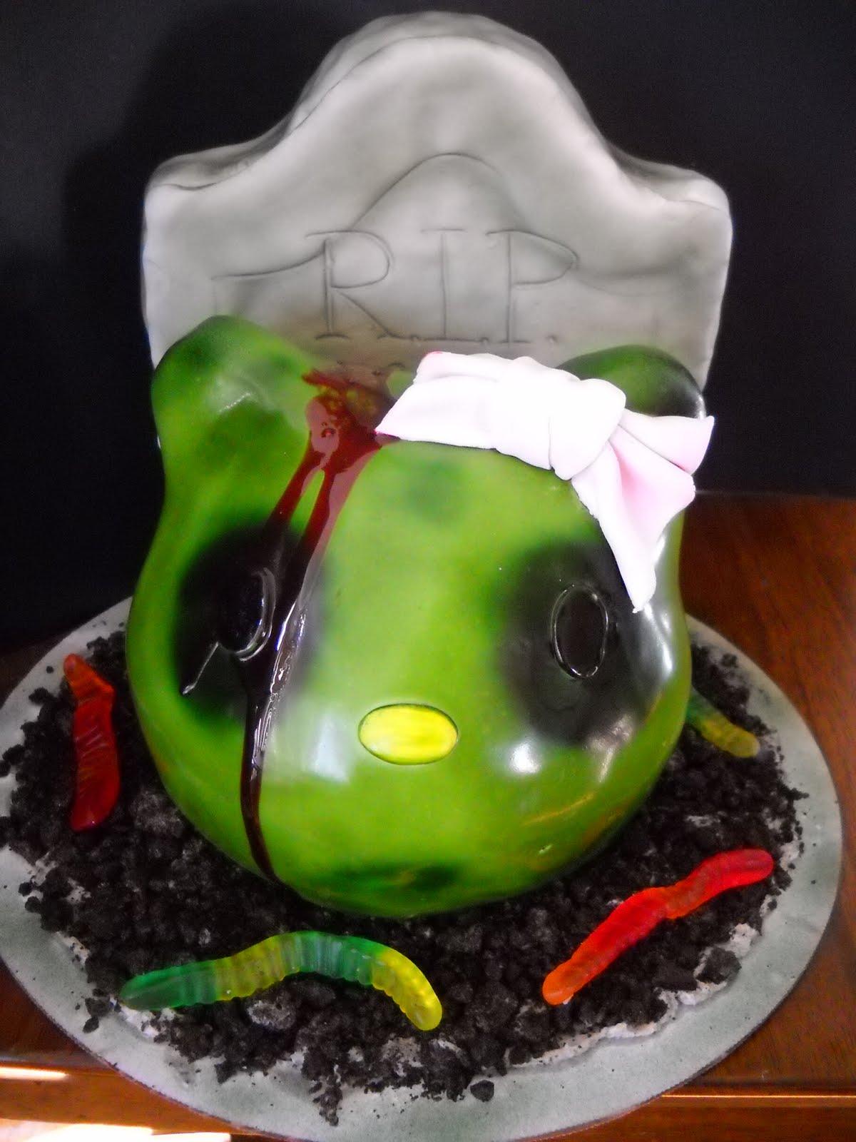 Zombie Hello Kitty Cake Tara's Piece of Cake: ...