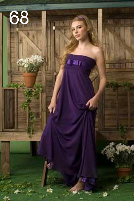 Vestidos para gorditas color uva