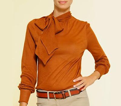 blusas anaranjadas de oto o invierno blusas de fiestas