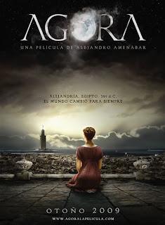Cartel de la película de Ágora