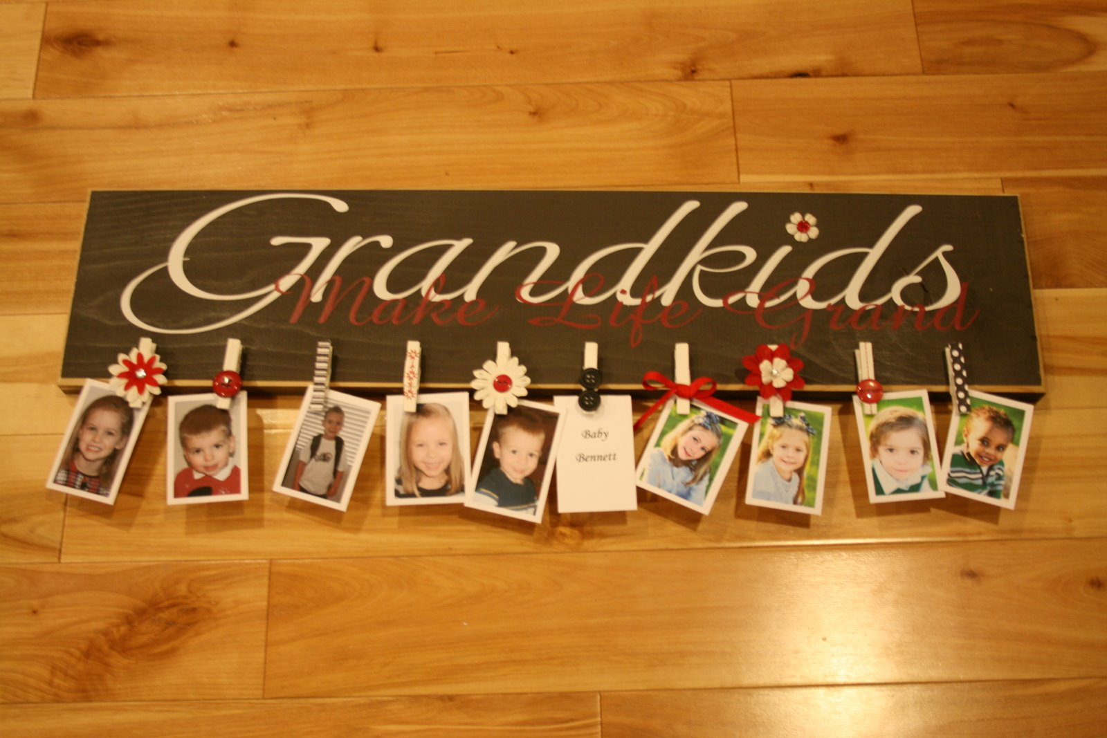 Grandparents Gift showoff those grandkids sign