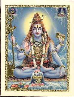 lord Shiva en samadi