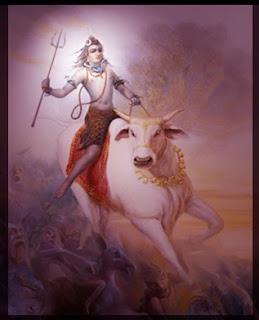 Shiva y Nandi