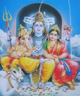 Shiva, Parvati y Ganesha 3