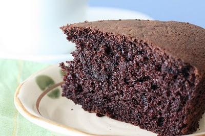 how to make chocolate sponge cake with oil