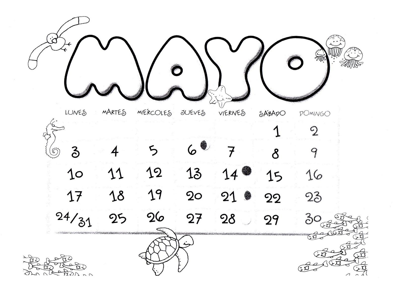 Calendario Para Imprimir Por Mes 2016