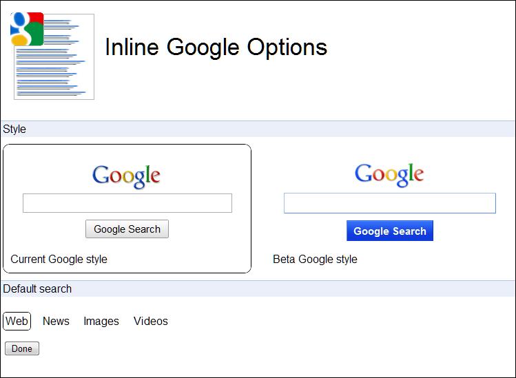 google search icon. beta google search style