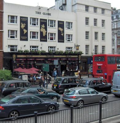 Pub en Baker Street, la calle de Serlock Holmes