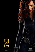 Scarlett Johansson como Black Widow en Iron Man 2.