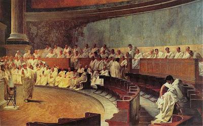 Dimite el Emperador Cicer%C3%B3n+denunciando+a+Catilina