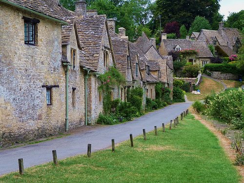 Arlington Row in Bibury Cotswolds by Paul Macmillan
