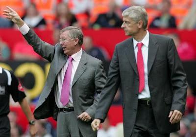 Sir Alex Ferguson - Arsene Wenger , Manchester United - Arsenal (PA)