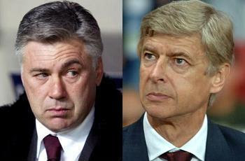 Arsenal coach Arsene Wenger is being tipped as one of the candidates who may take over from Carlo Ancelotti at Milan next season, according to Il Giorno.