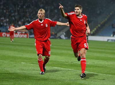 Gerrard Brace Seals Liverpool Win