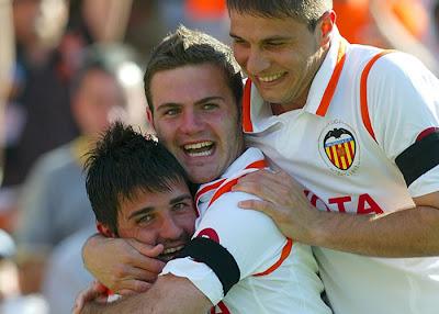 David Villa - Mata - Joaquin - Valencia - Osasuna (Marcamedia)