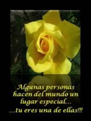 Gracias Rosario...