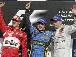 Alonso, Hamilton & Raikkonen - 3 GP Finalists